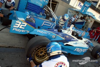 Pitstop practice at Team Player's