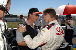 Nigel Mansell and Sébastien Bourdais