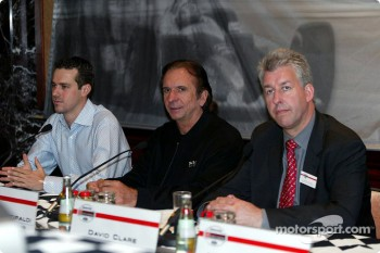 German 500 press conference: Tiago Monteiro, Emerson Fittipaldi and David Clare