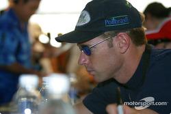 Drivers autograph session: Mario Haberfeld