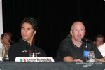 Press conference: Bruno Junqueira and Paul Tracy