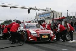 Pistopp Oliver Jarvis, Audi Sport Team Abt, Audi A4 DTM