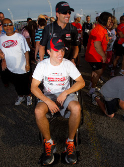 Sam Schmidt Paralysis Foundation Run, Walk'n Wheelathon: Alex Tagliani, Sam Schmidt Motorsports