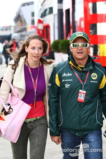 Catherine Hyde, girlfriend of Heikki Kovalainen