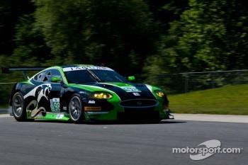 #98 JaguarRSR Jaguar XKR: PJ Jones, Rocky Moran, Jr.