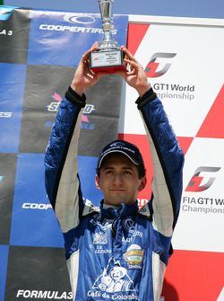 Third place Carlos Huertas