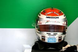 Helmet of Adrian Sutil, Force India