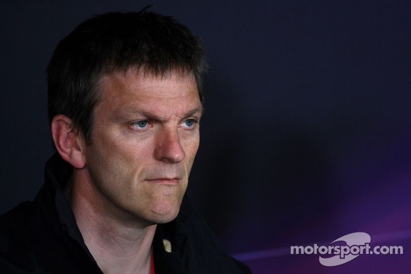 James Allison Technical Director, Lotus Renault GP