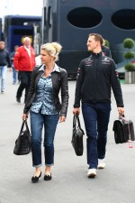 Michael Schumacher, Mercedes GP F1 Team and Corina Schumacher, Corinna, Wife of Michael Schumacher
