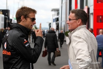 Jenson Button, McLaren Mercedes, David Coulthard, Red Bull Racing, Consultant