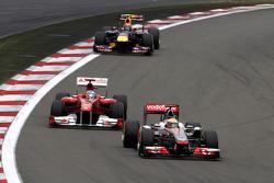 Lewis Hamilton, McLaren Mercedes, Fernando Alonso, Scuderia Ferrari