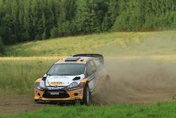 Jari Ketomaa and Miika Teiskonen, Ford Fiesta RS WRC