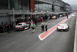F1 pitlane