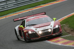 Audi Sport Team Phoenix Audi R8 LMS: Marcel Fässler, Andrea Piccini, Mike Rockenfeller