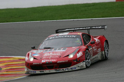 SOFREV Auto Sport Promotion Ferrari 458 Italia: Franck Morel, Jean-Luc Beaubelique, Ludovic Badey, Guillaume Moreau