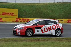 Alexey Dudukalo, Seat Leon 2.0 TDI, Lukoil - Sunred