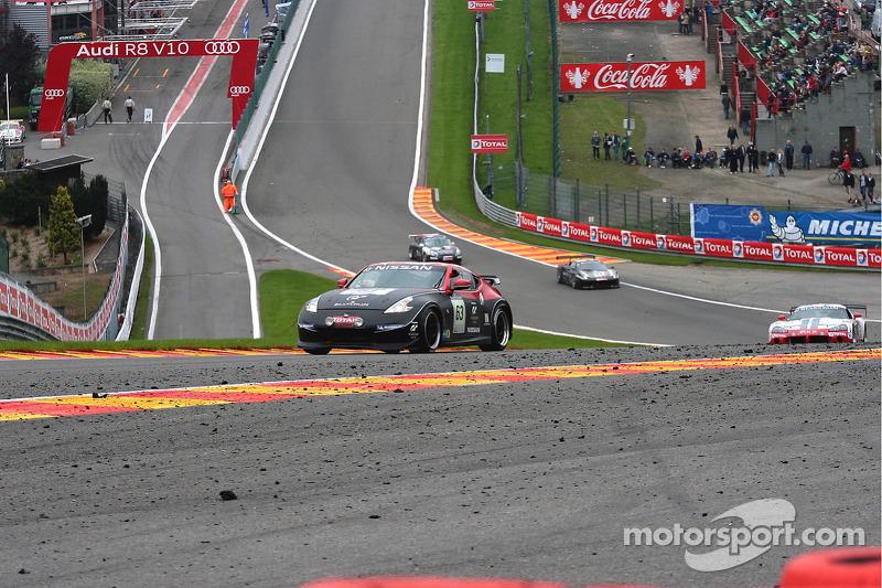 #63 RJN Motorsport Silver Nissan 370Z: Alex Buncombe, Jordan Tresson, Christopher Ward