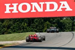James Hinchcliffe, Newman/Haas Racing, Scott Dixon, Target Chip Ganassi Racing