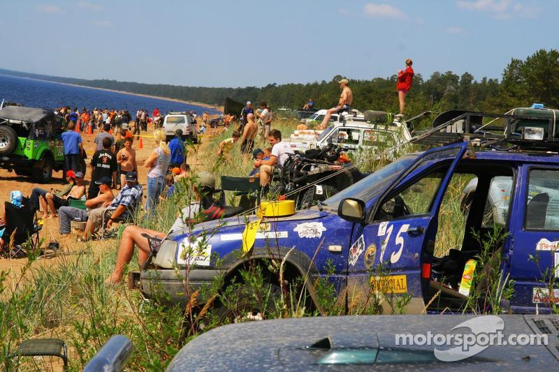 Right at home at the Lagoda Trophy Raid