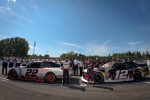 Penske Racing photoshoot: pole winner Jacques Villeneuve, Penske Racing Dodge and second place Alex Tagliani, Penske Racing Dodge