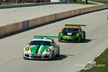 #54 Black Swan Racing Porsche 911 GT3 Cup: Tim Pappas, Jeroen Bleekemolen