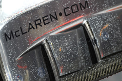 McLaren front wing end plate