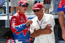 INDYCAR: Graham Rahal, Service Central Chip Ganassi Racing with Don Prudhomme