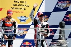 Podium: third place Ben Spies, Yamaha Factory Racing