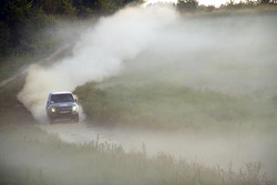 Running through the dust