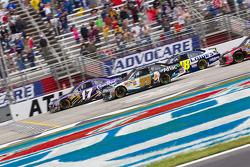 Matt Kenseth, Roush Fenway Racing Ford, Carl Edwards, Roush Fenway Racing Ford