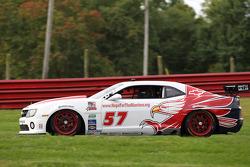 #57 Stevenson Motorsports Camaro GT.R: Ronnie Bremer, Robin Liddell