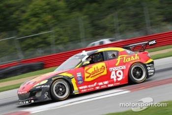 #49 Team Sahlen Mazda RX-8: Joe Nonnamaker, Joe Sahlen