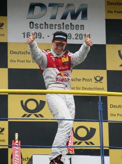 Winner Mattias Ekström, Audi Sport Team Abt Audi A4 DTM