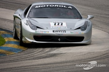 #777 Ferrari of Qubec Ferrari 458 Challenge: Emmanuel Anassis