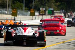#12 Rebellion Racing Lola B10/60 Coupe Toyota: Nicolas Prost, Neel Jani, Andrea Belicchi heads to track