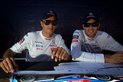 Stéphane Sarrazin and Alexander Wurz