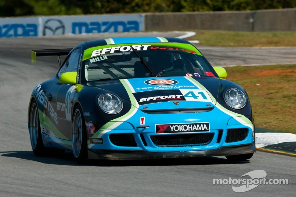 #41 Effort Motorsports Porsche 911 GT3 Cup: Michael Mills