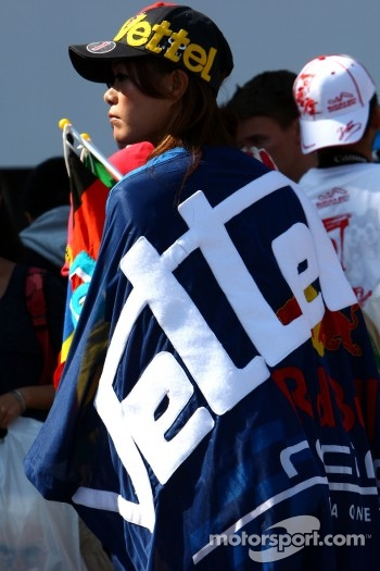 Fan of Sebastian Vettel, Red Bull Racing