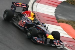 Red Bull two seconds off the pace this afternoon
