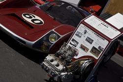 Porsche 906 and engine