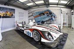 Porsche RS Spyder display