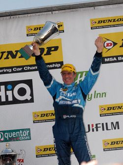 Round 30 2nd place Jason Plato, Silverline Chevrolet