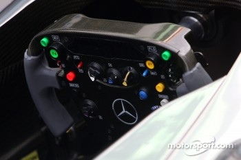 McLaren Mercedes steering wheels