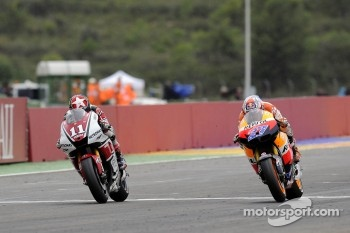 Ben Spies and Casey Stoner