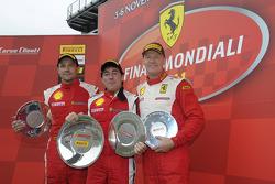 Trofeo Pirelli F430, Ferrari Challenge North America, race 1 podium