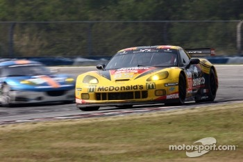 #50 Larbre Competition Corvette C6-ZR1: Patrick Bornhauser, Julien Canal, Olivier Beretta