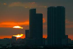 Sunset on Miami