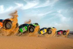 X-Raid Rally Team with their new MINI All4