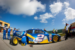 Car of Brad Keselowski, Penske Racing Dodge