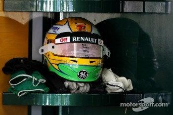 Helmet of Luiz Razia, Team Lotus